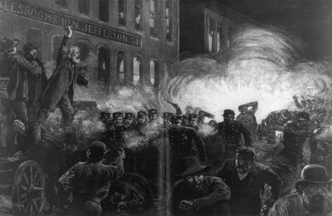 Les conditions de travail ont changé depuis le massacre de Haymarket.