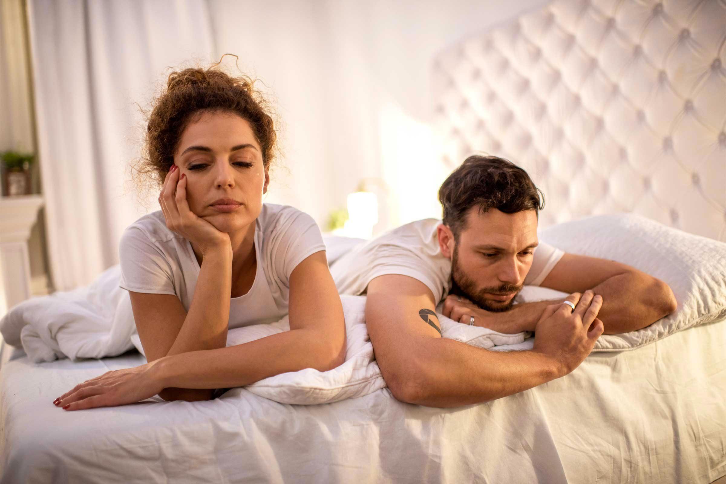 Signe d'un déséquilibre hormonal : vous en avez de moins en moins envie.