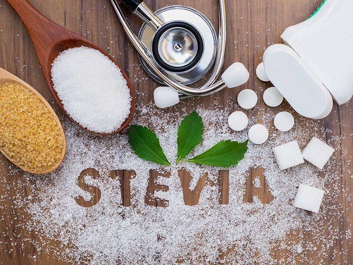La stévia fait partie des aliments à consommer contre le diabète.