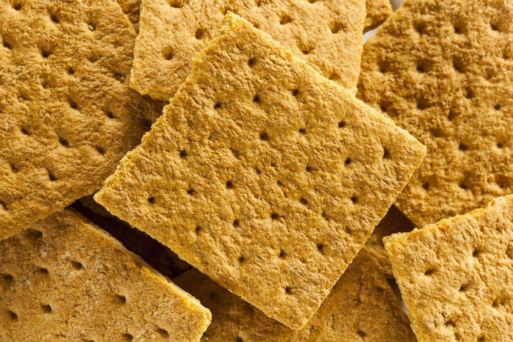 Garde manger : les biscuits Graham doivent être conservés dans un contenant hermétique.