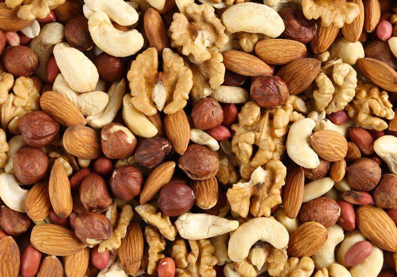 Garde manger : les noix et les graines peuvent rancir.