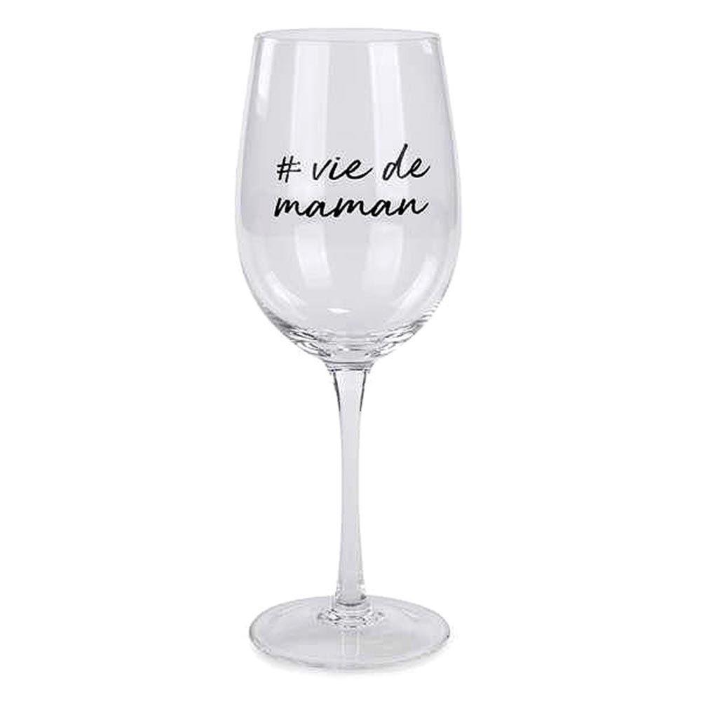 Idée cadeau fête des mères : un verre de vin.