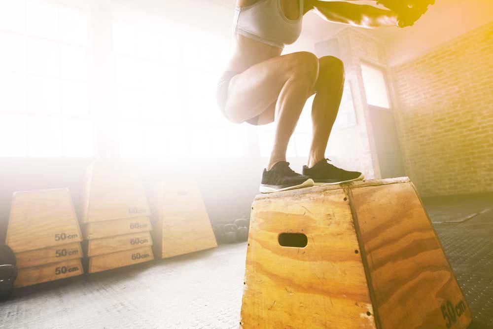 Machines de salle de sport dangereuses : les boîtes d'entraînement.
