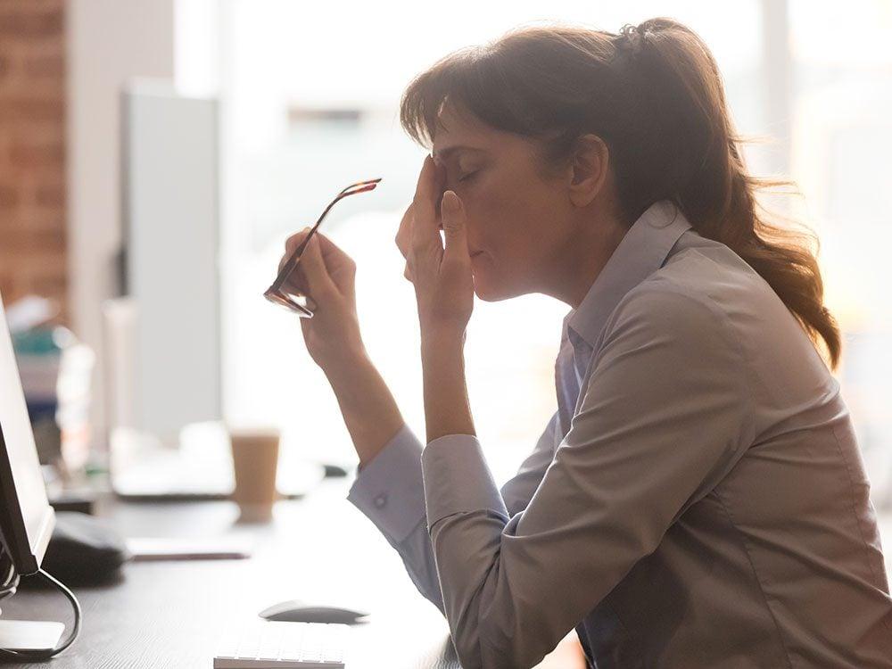 Le manque de sommeil nuit à votre travail.