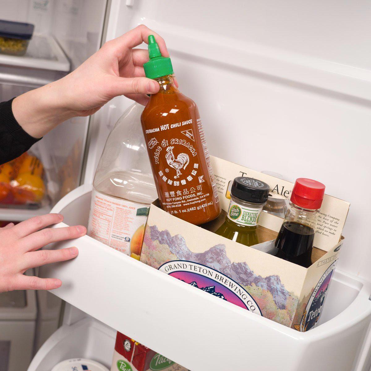 Organiser sa maison : ne jetez pas ce carton porte-bouteilles.