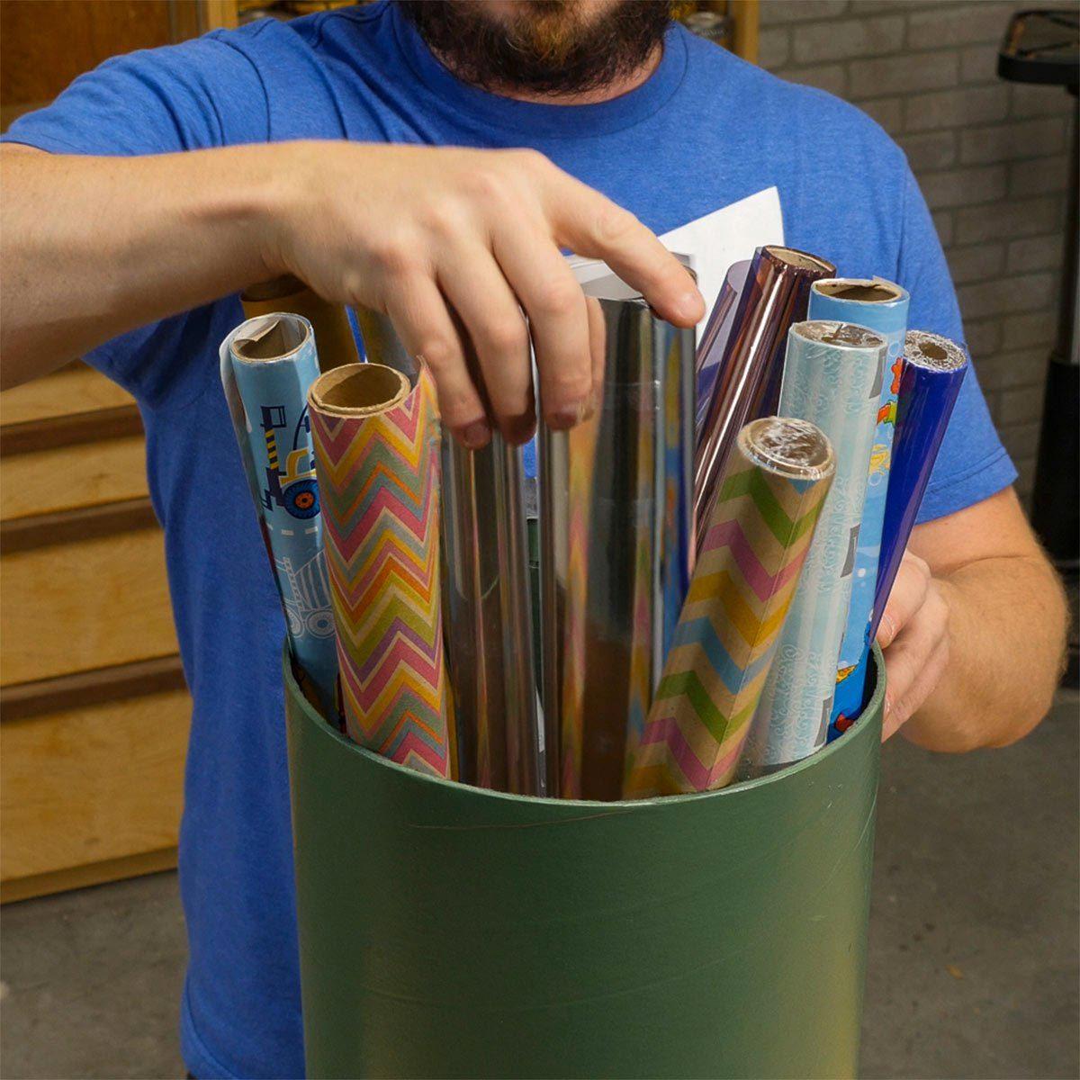 Organiser sa maison : un cylindres à tout faire.