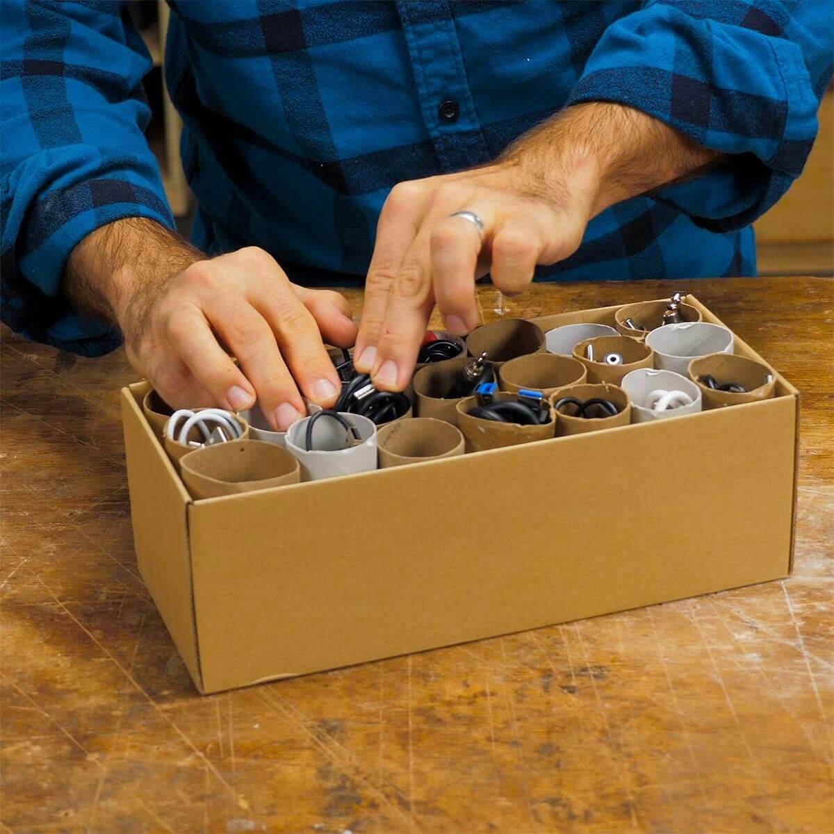Organiser sa maison : de l'ordre dans vos câbles d'alimentation.