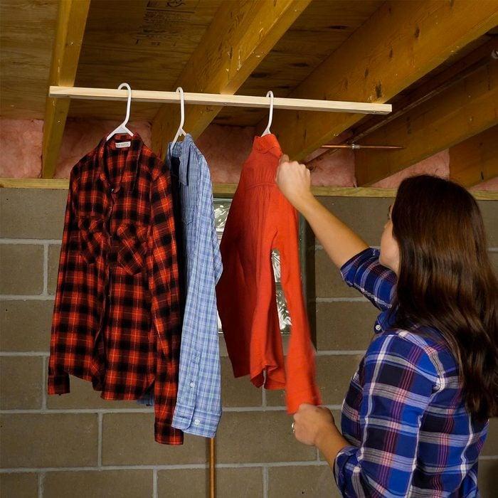 Organiser sa maison : un séchoir instantané.