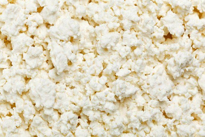 Source de protéines : le fromage cottage.