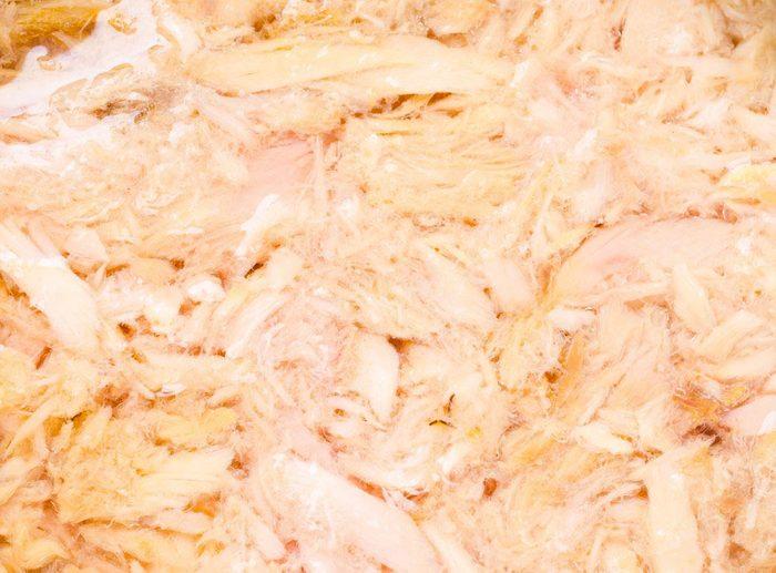 Source de protéines : le thon.