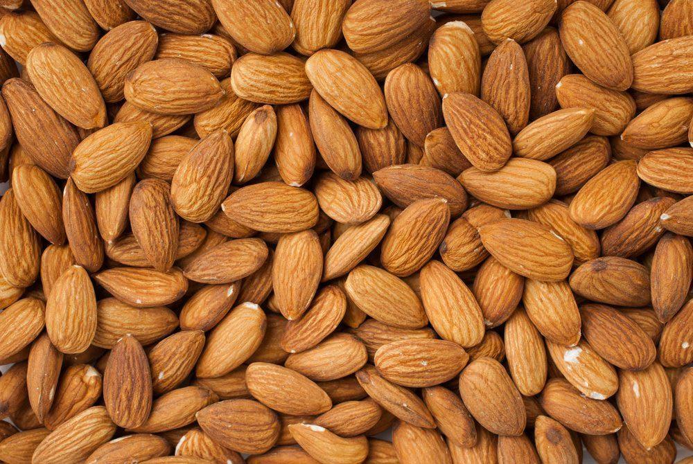Source de protéines : les amandes.