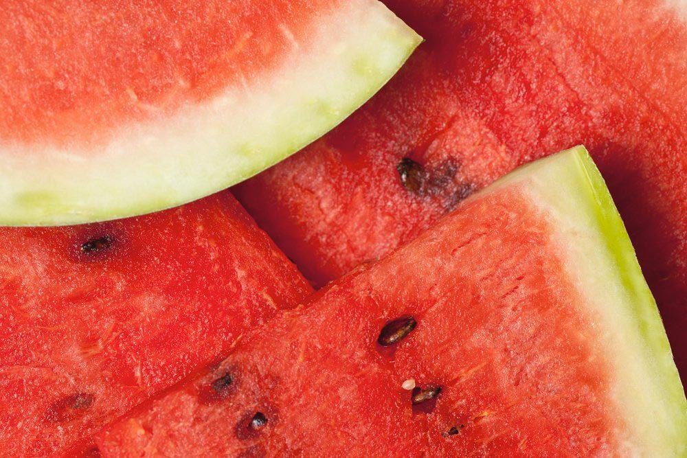 Source de protéines : les graines de pastèque.
