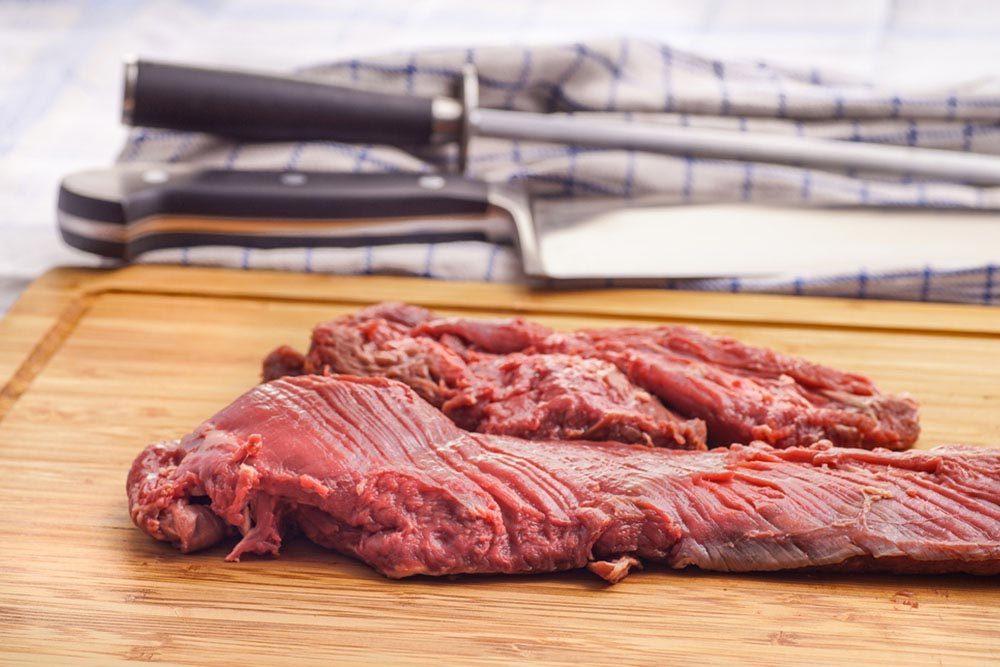 Qualité de viande : j'ai une coupe favorite.