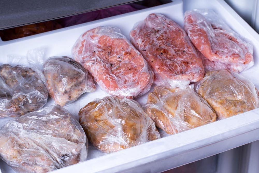 Qualité de viande : nous savons comment éviter les brûlures de congélation.