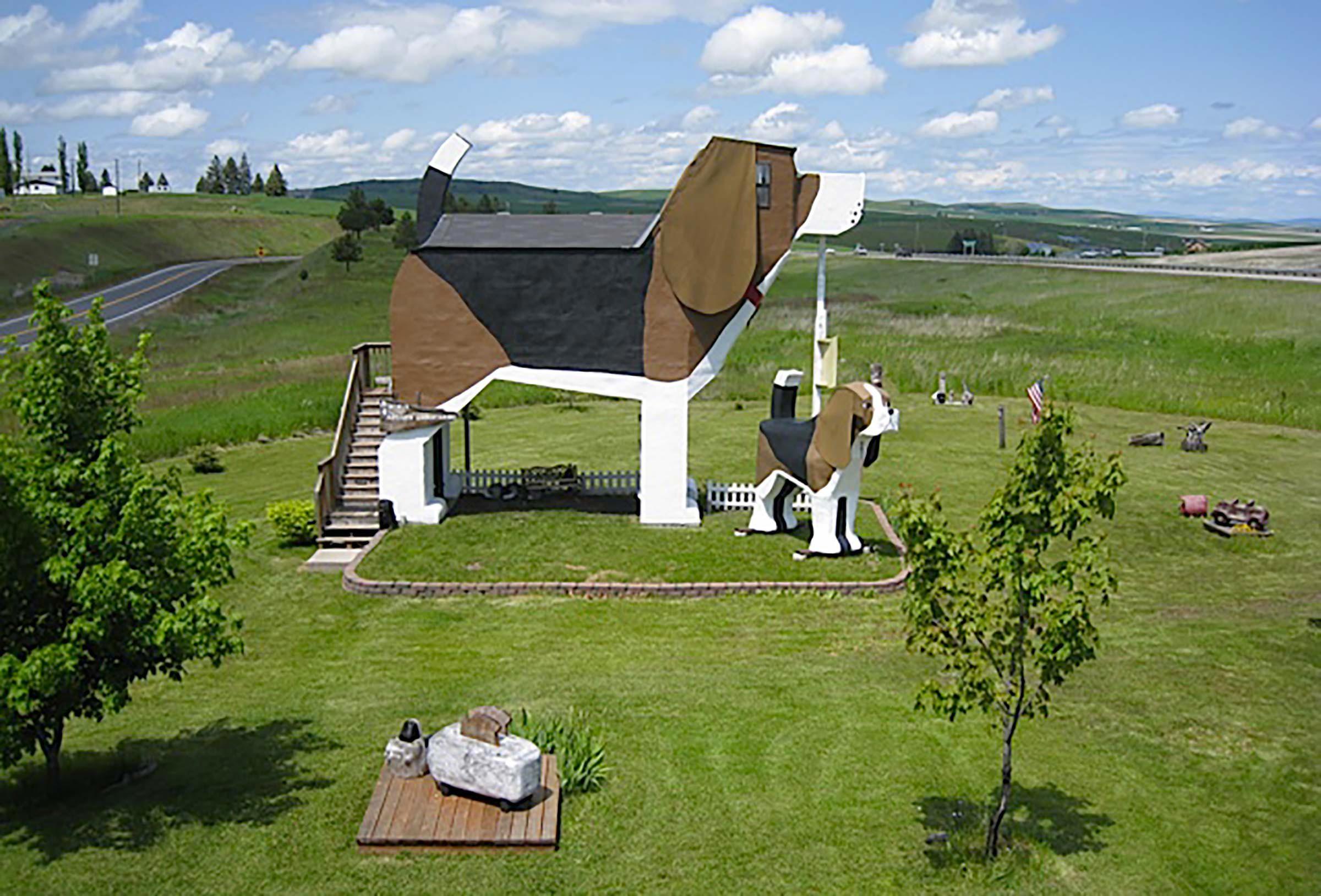Séjour insolite à l'auberge Dog Bark Park dans l'Idaho.