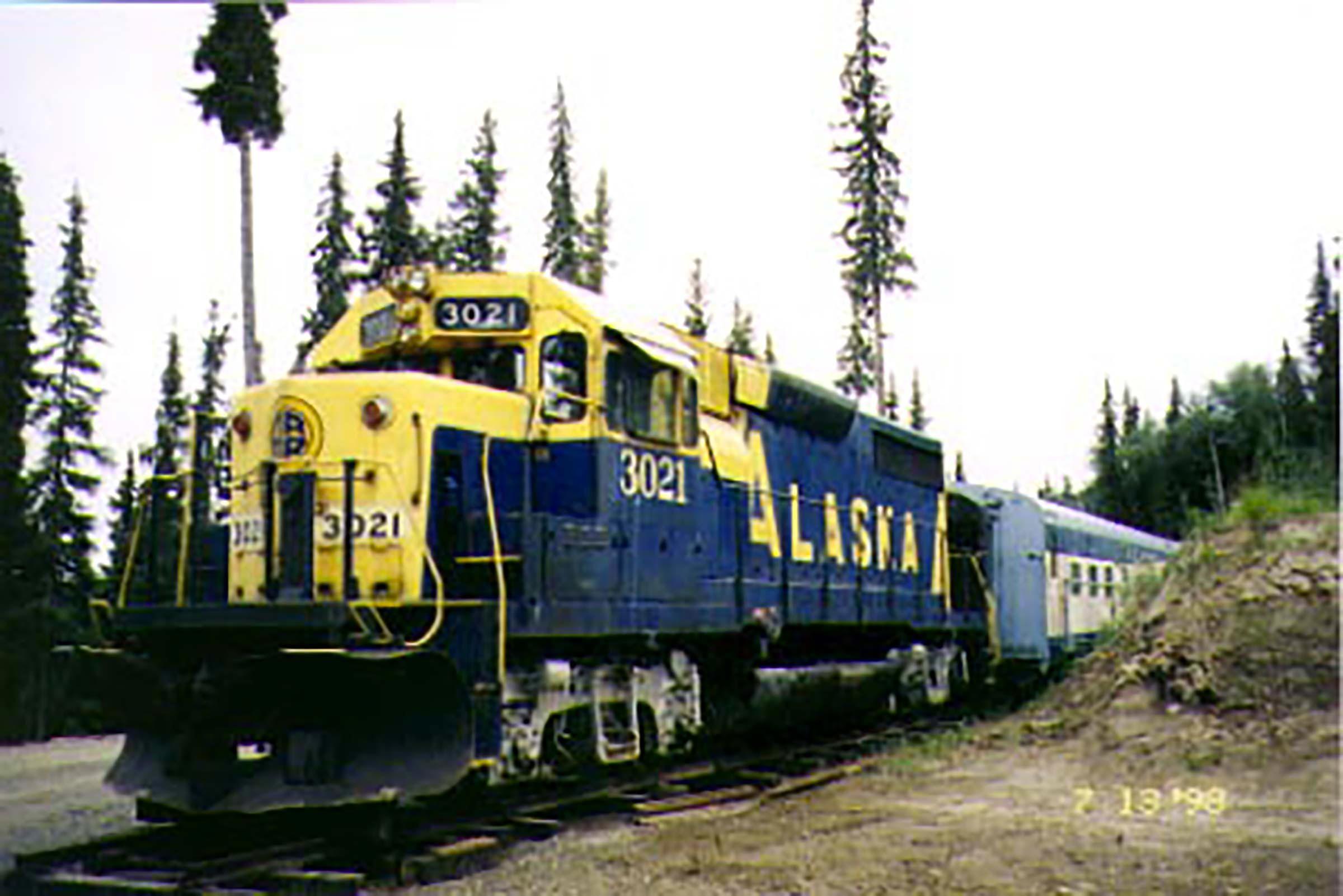 Séjour insolite dans l'Aurora Express en Alaska.