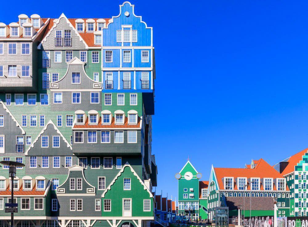 Séjour insolite au Inntel Amsterdam Zaandam.