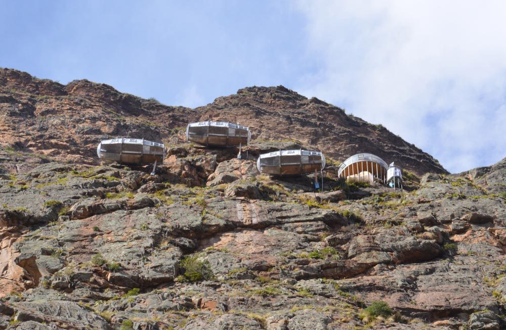 Séjour insolite à Suites Skylodge Adventure au Pérou.
