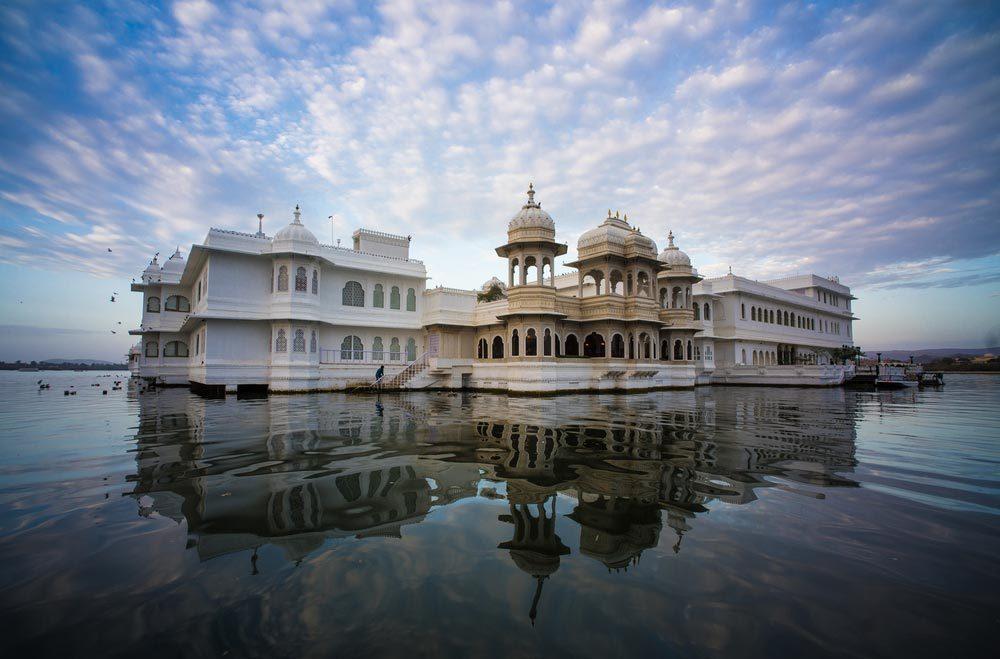 Séjour insolite à Taj Lake Palace en Inde.