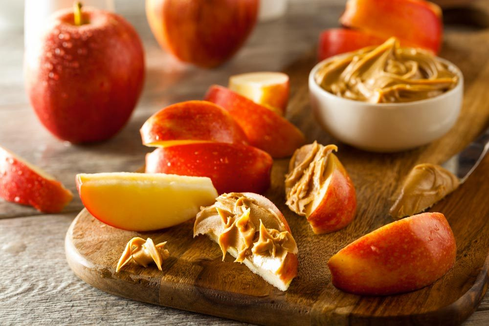 Source de protéines végétales : le beurre d'arachide.