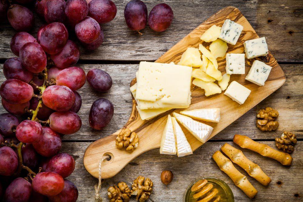 Source de protéines végétales : le fromage.