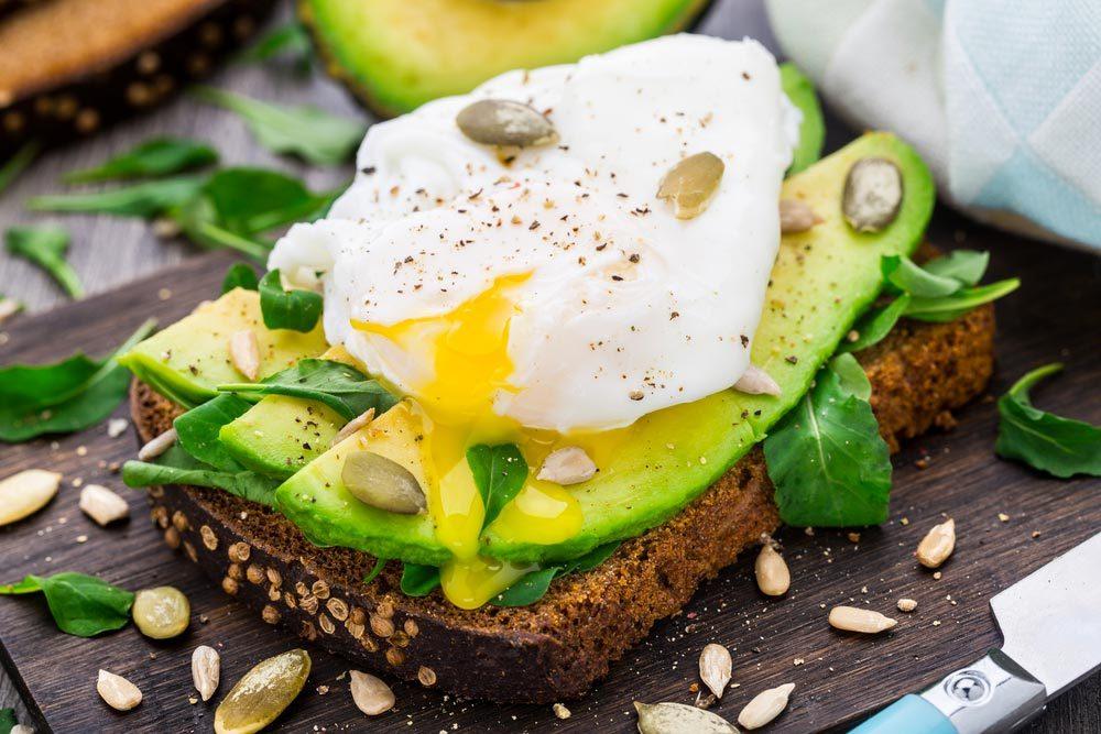 Source de protéines végétales : les oeufs.
