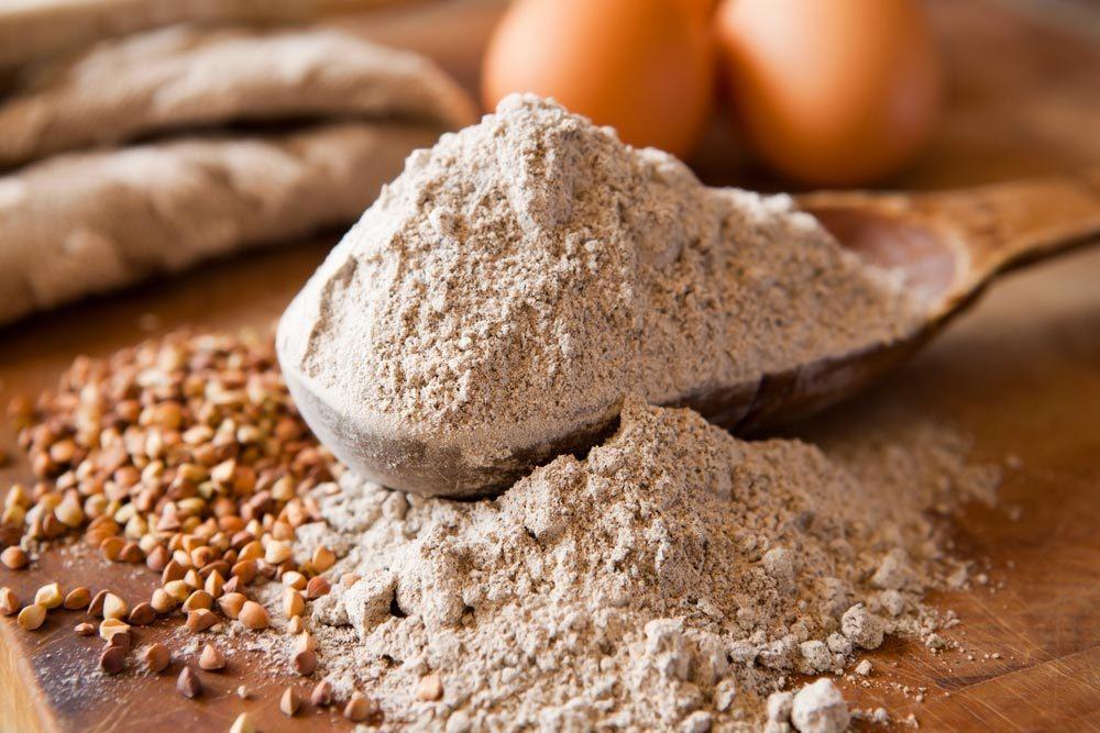 Source de protéines végétales : le sarrasin.