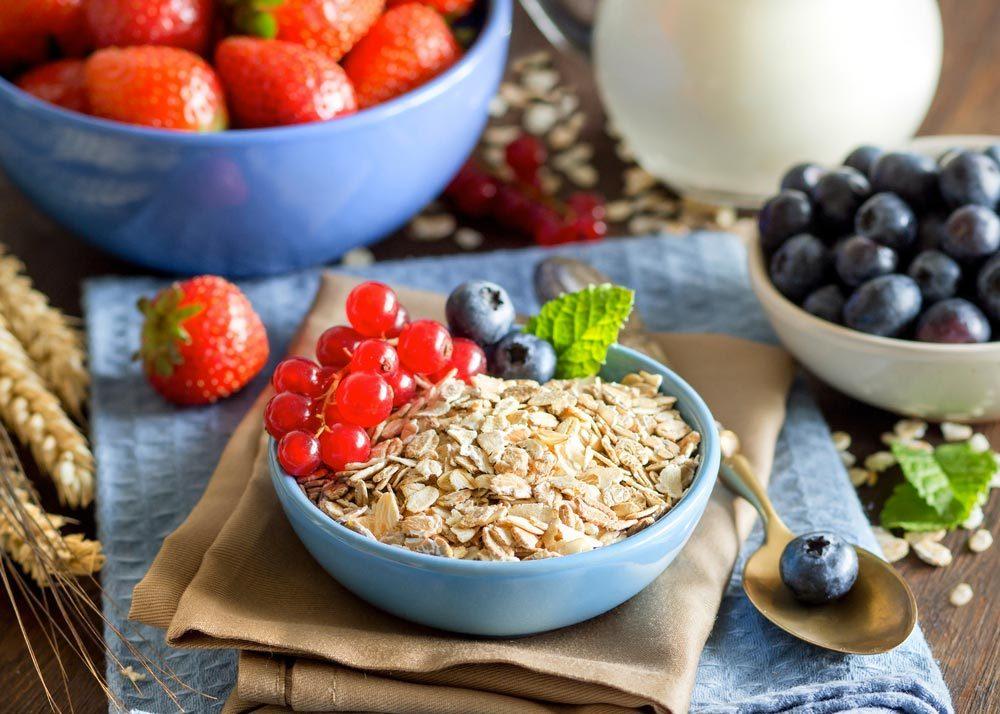 Source de protéines végétales : l'avoine.