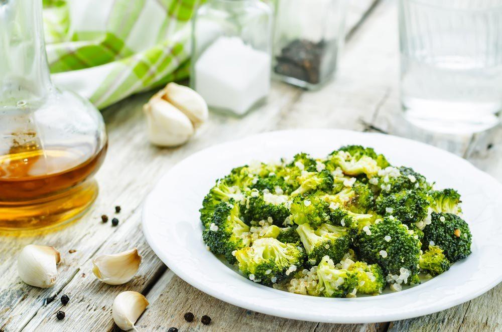 Source de protéines végétales : le brocoli.
