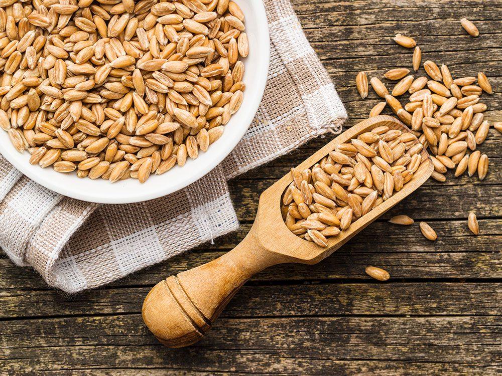 L'épeautre fait partie des meilleures sources de protéines végétales.