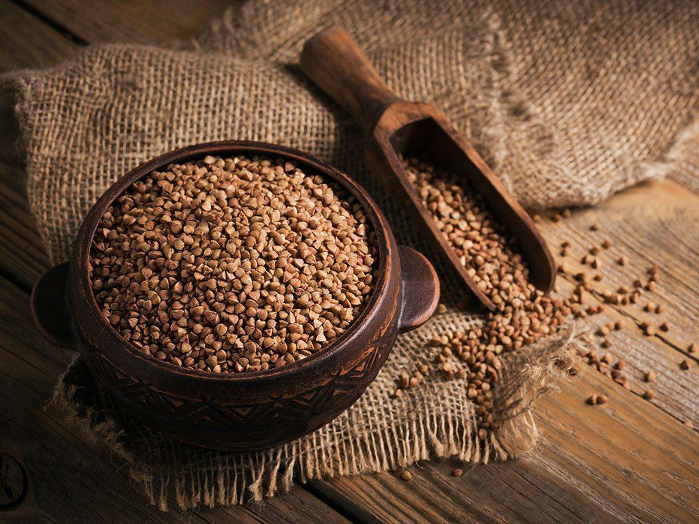Le sarrasin fait partie des meilleures sources de protéines végétales.