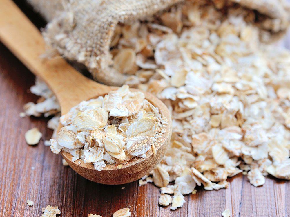 Le son d'avoine fait partie des meilleures sources de protéines végétales.