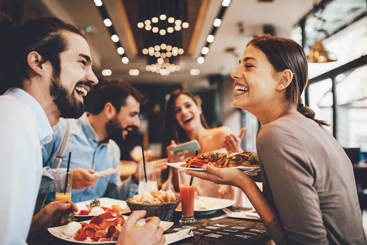 Une option végane est parfois proposées dans les restaurant.