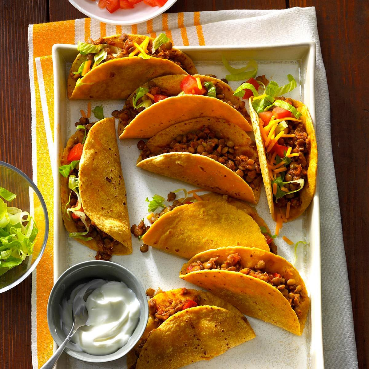 Recette végane : tacos aux lentilles