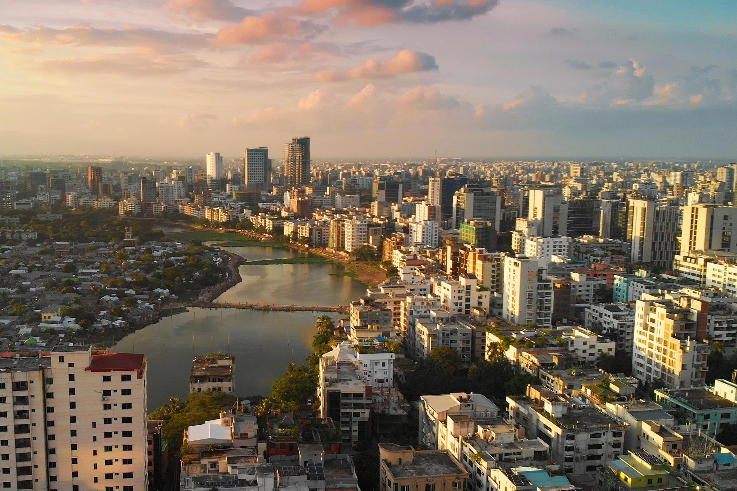 Villes les plus polluées : Dacca, Bangladesh.