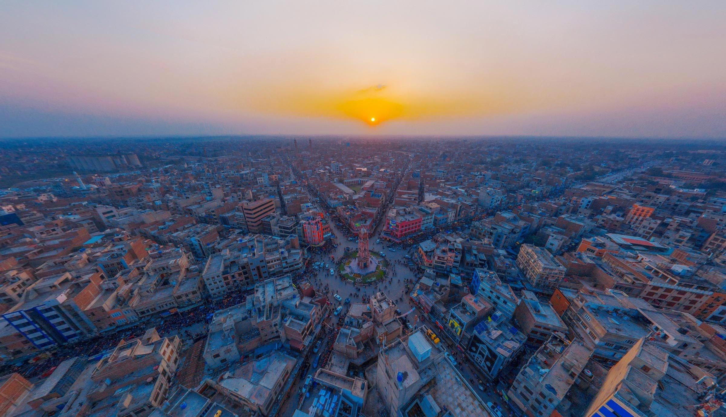 Villes les plus polluées : Faisalabad, Pakistan.