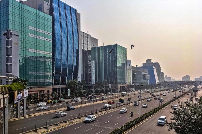 Villes les plus polluées : Gurugram, Inde.