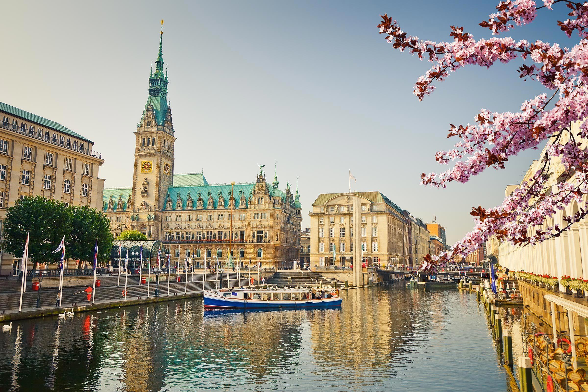 Villes les moins polluées : Hambourg, Allemagne.