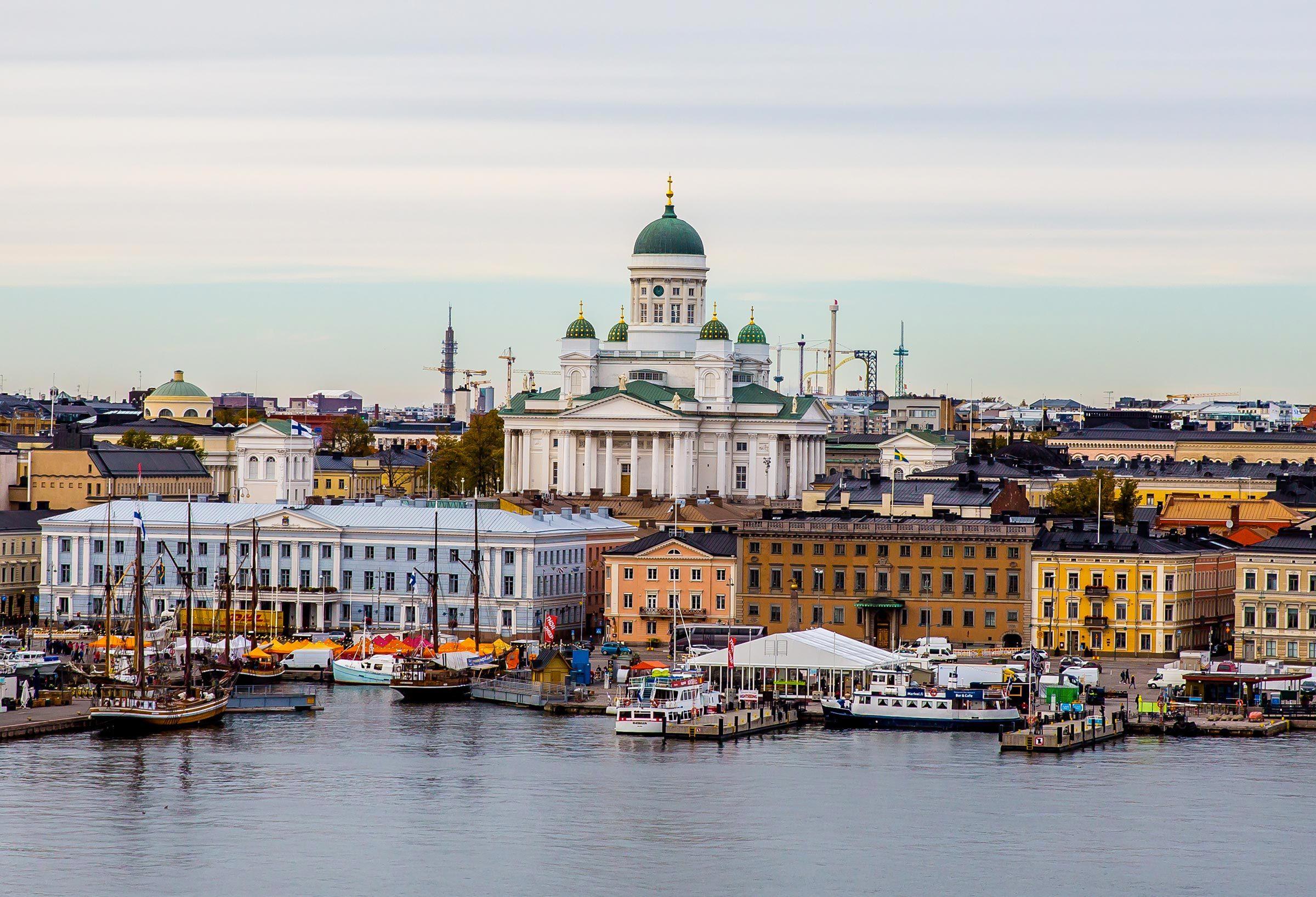 Villes les moins polluées : Helsinki, Finlande.