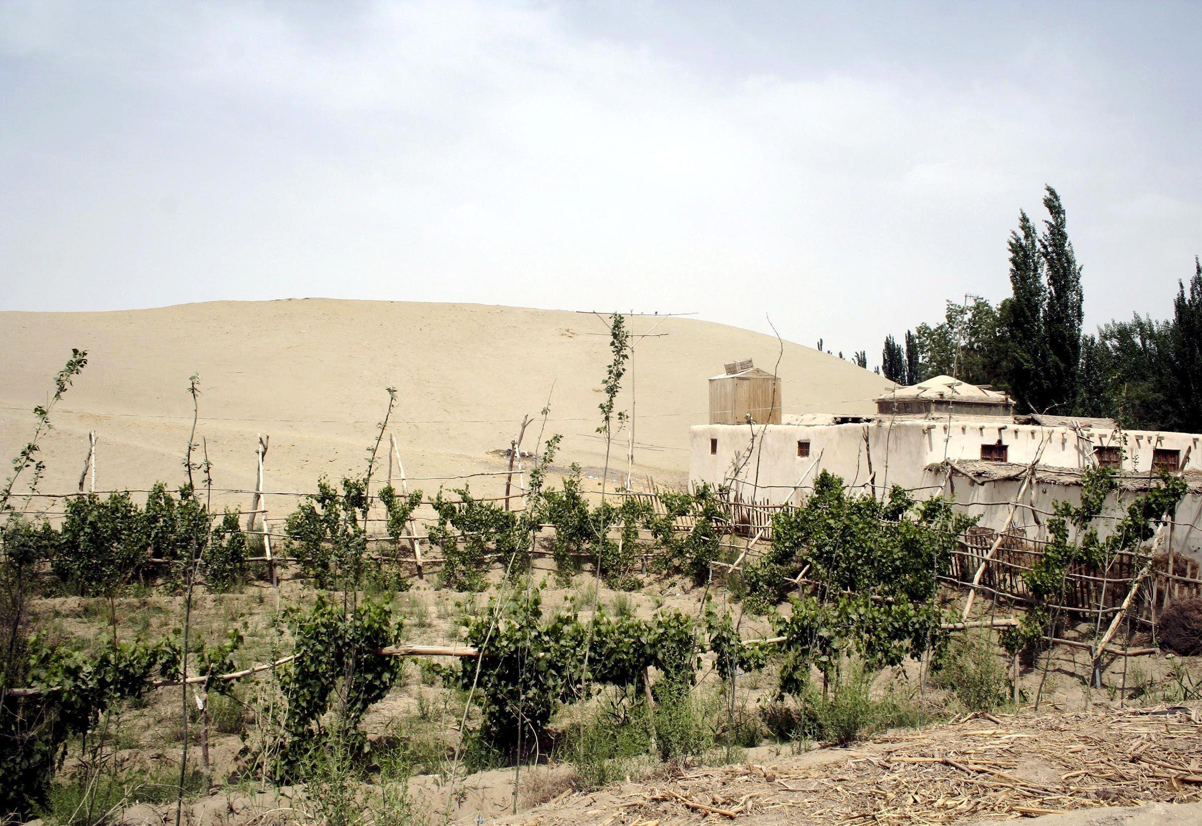 Villes les plus polluées : Khotan, Chine.