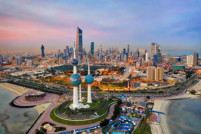 Villes les plus polluées : Koweït, Koweït.