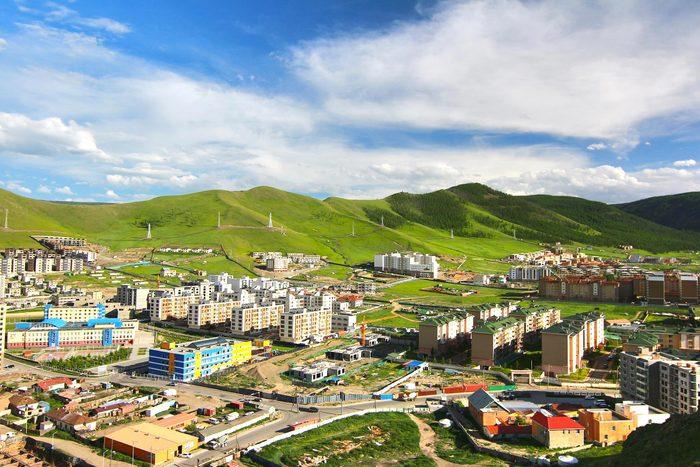 Villes les plus polluées : Oulan-Bator, Mongolie.