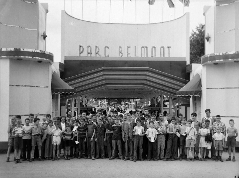 Instauré en 1923, le parc Belmont – situé dans Cartierville –, existait bien avant la Ronde.