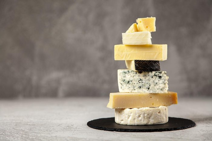 Achats chez Costco : les fromages.