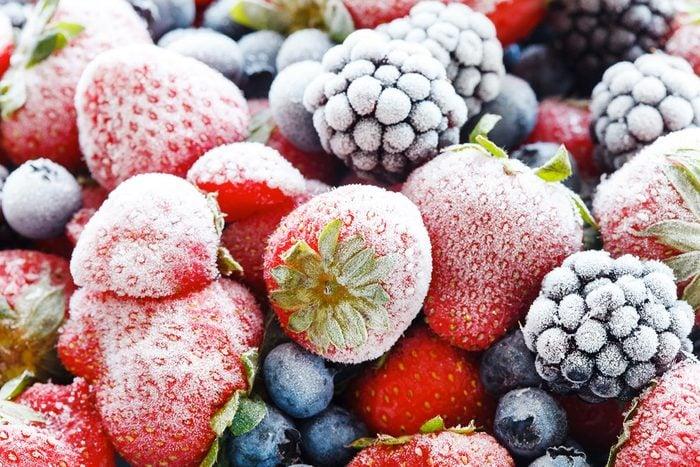 Achats chez Costco : les fruits séchés ou congelés.
