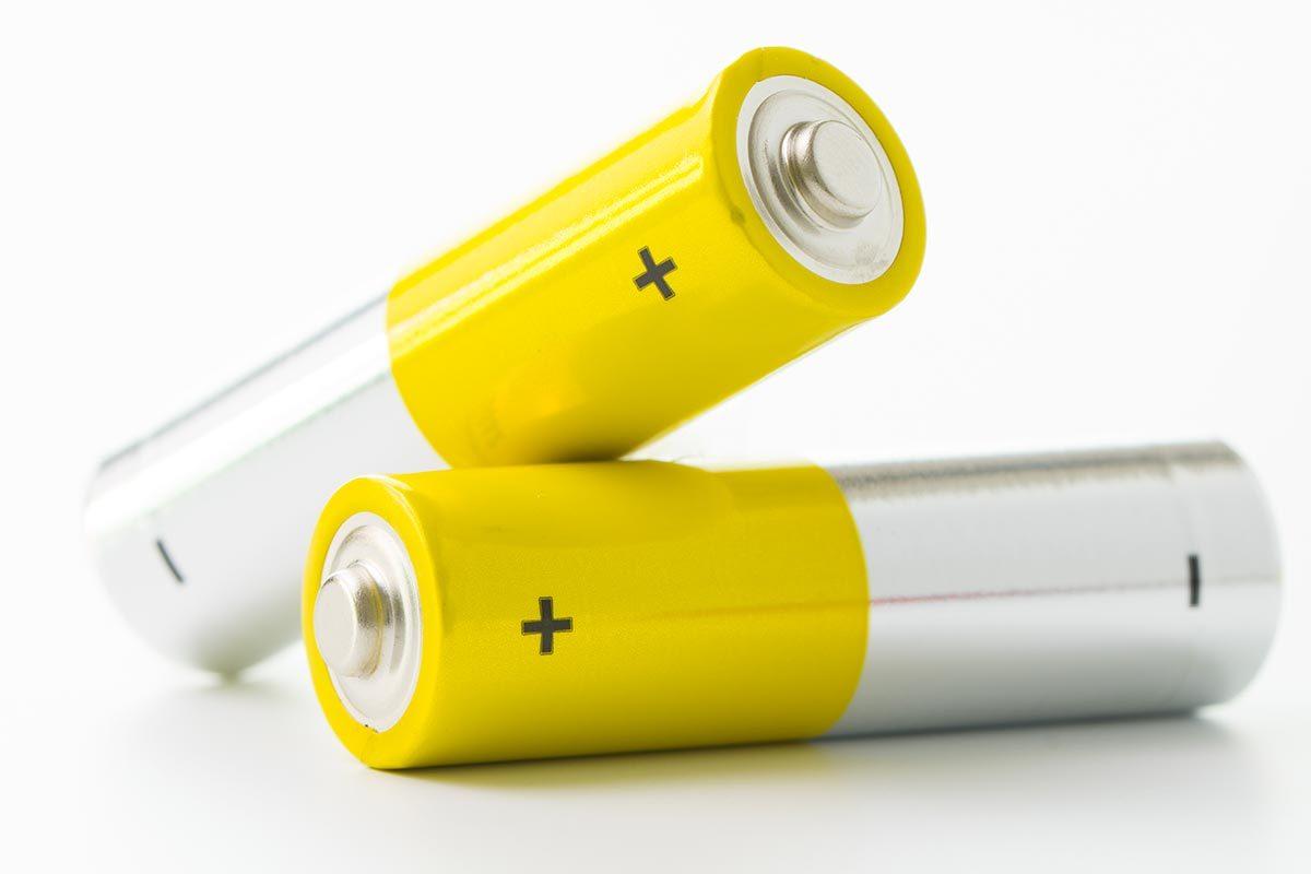 Achats chez Costco : les piles.