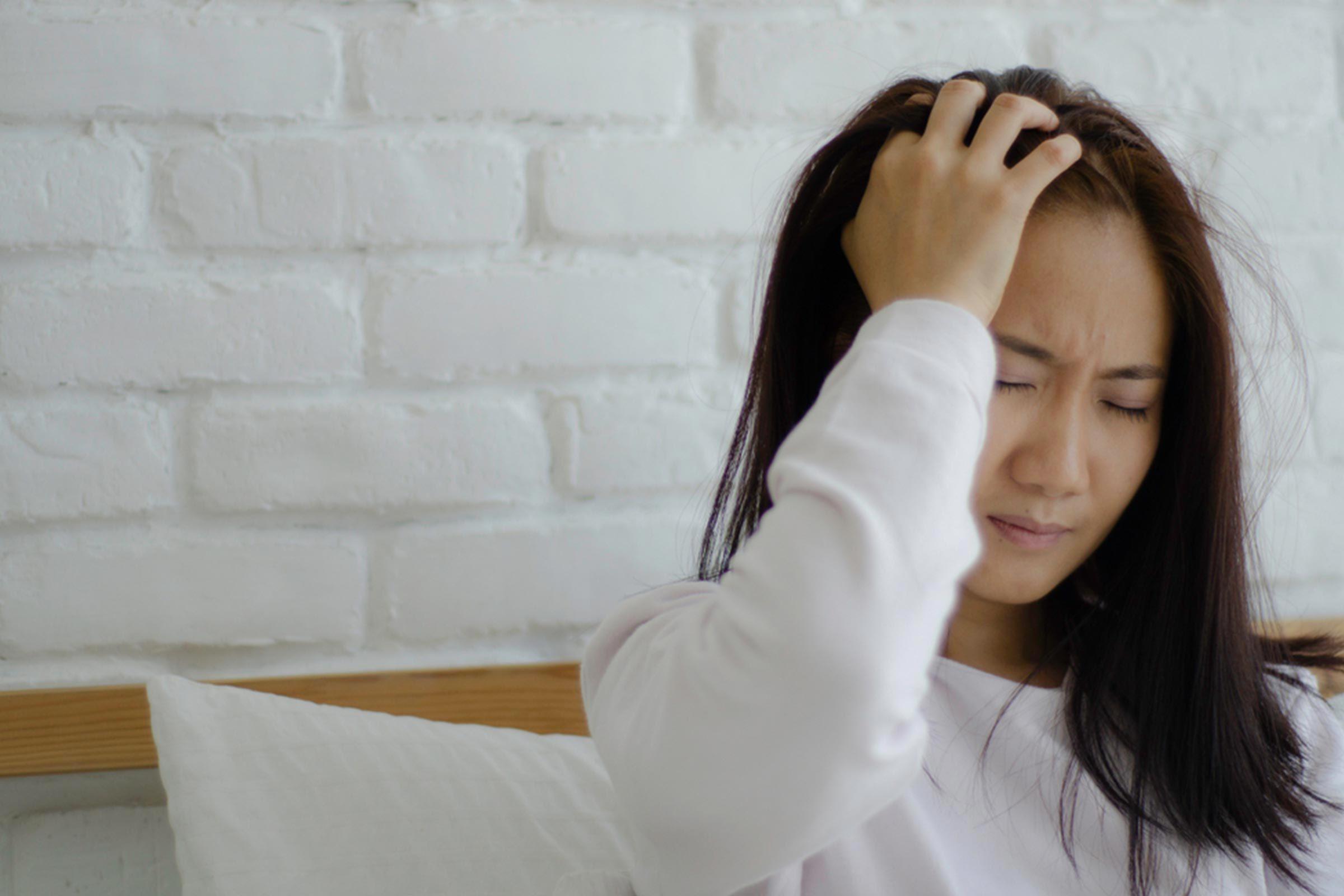 Symptôme d'anémie : vous avez de trop fréquents maux de tête.