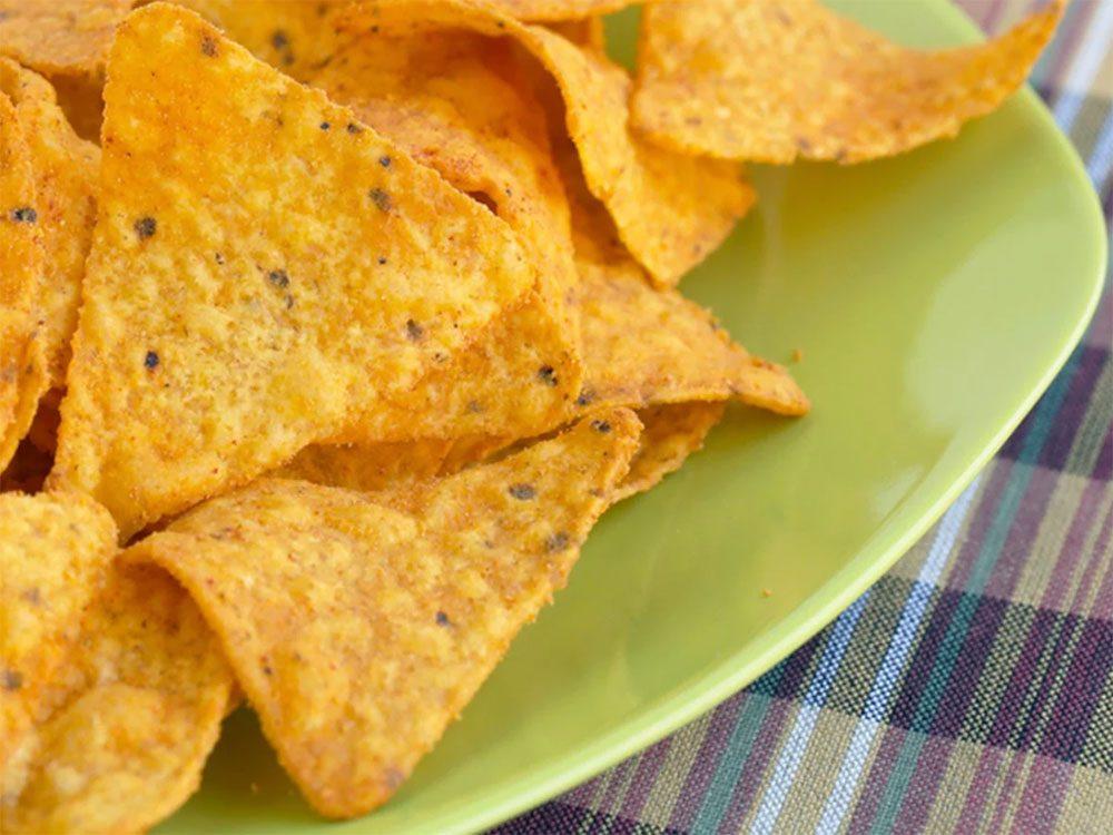 Astuces de cuisine: ne jetez pas vos restes de Doritos.