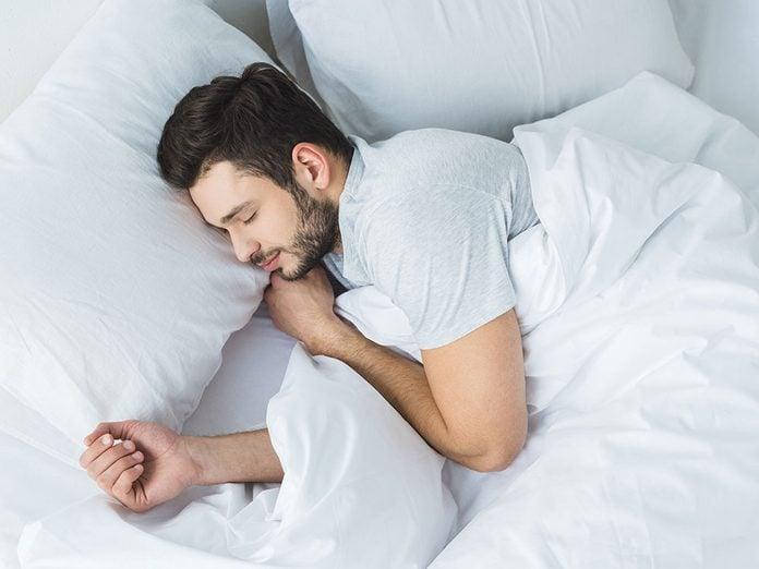 Améliorer le sommeil est l'un des bienfait de l'avocat.