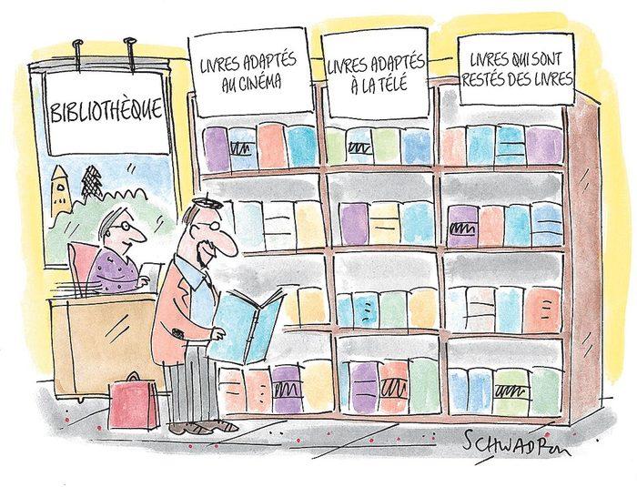 Blague de bibliothèque